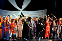 Dancers and Crew on Stage Curtain Call _083